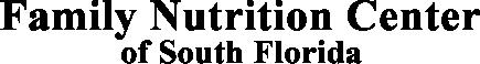 Family Nutrition Center of South Florida
